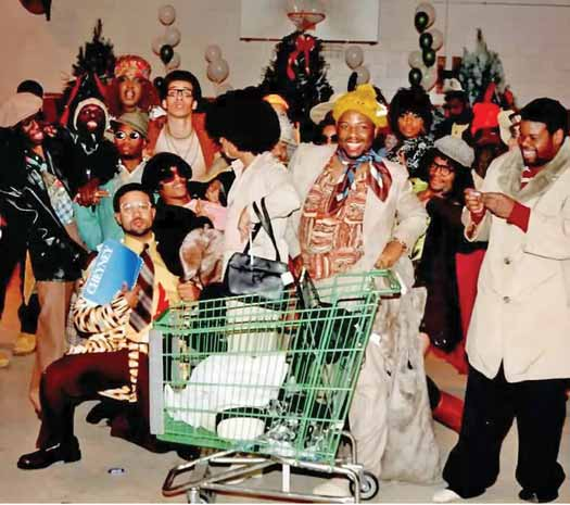 1995 Christmas Ball in Philadelphia at the YMCA on Broad St