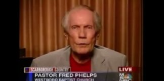 Fred Phelps Obit 2014