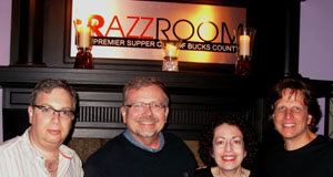 Rrazz Room owners with Ralph Malachowski second from left