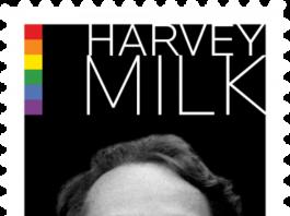 Harvey Milk forever stamp 2014