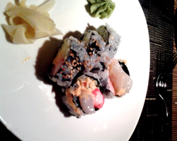 Imperial 46 Restaurant Sushi Roll