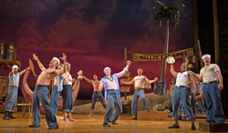 "Scenes from ""South Pacific"" at Paper Mill Playhouse in Millburn, NJ.guys"