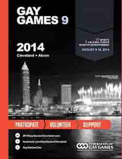 Gay Games brochure cover 2014
