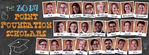 Point Foundation Scholars 2014