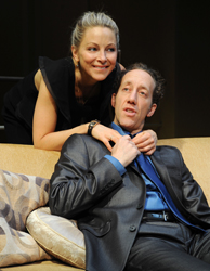 Chapter 2 with Anastasia Griffith and Joey Slotnick. Photo by Mandee Kuenzle.