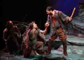 Scene from The Tempest featuring John Barker