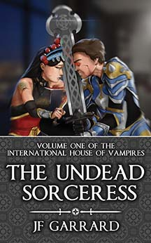 """Cover of """"The Undead Sorceress"""""""