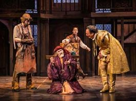 """Another scene from """"The Alchemist"""" at Shakespeare Theatre."""