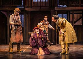 "Another scene from ""The Alchemist"" at Shakespeare Theatre."