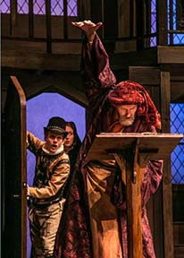 """Photo from """"The Alchemist"""" at Shakespeare Theatre."""