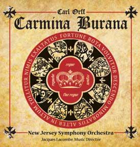 NJSO concert with Carmina Burana