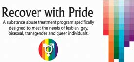 Recover with Pride graphic
