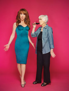 Kathy Griffin with her mom in 2012 Courtesy BRAVO.