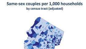 New Jersey Same Sex couples data per US census 2010