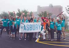 The Asbury Hotel crew at Jersey Pride in 2016