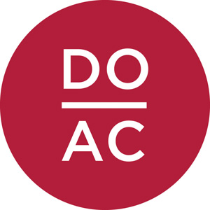 Do-AC Burgundy logo