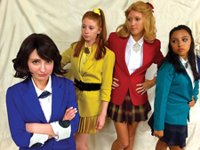 Heathers the Musical cast