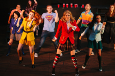 """Heathers -  the Musical"" cast photo"