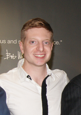 James Clementi at opening of Mitchell-Gold store in Paramus NJ in 2013. Photo by Peter Frycki