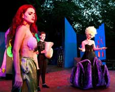 """The Little Mermaid"" at the Open Air Theatre in Washington's Crossing NJ"