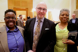 The LGBT reception was well attended at NJSO concert in Newark at NJPAC. After show photos by Ralph Malachowski.