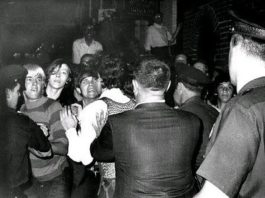 New York 1969 Stonewall rebellion photo