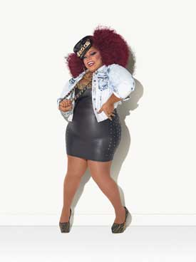 Ru Paul contestant  Jaidynn Diore Fierce