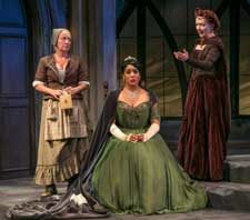 "Scene from ""Exit the King"" at Shakespeare Theatre of New Jersey"