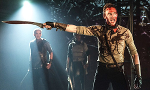 Scene from the UK Production of Coriolanus