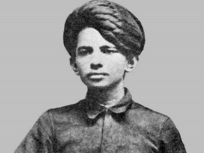 gandhi BW at a young age