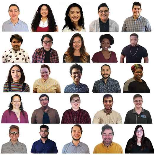 2018 Point Foundation LGBT Community College scholarship winners
