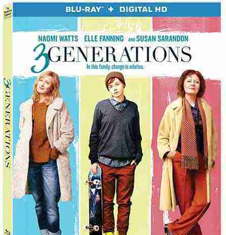 """3 Generations"" DVD cover"