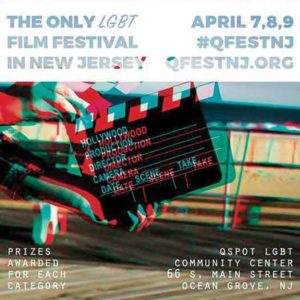 Qfest is held yearly in Ocean Grove at the Jersey Shore Qspot LGBT Center