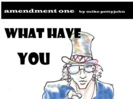 Amendment One Editorial Cartoon by Michael Pettyjohn