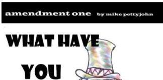 Amendment One Editorial Cartoon by Michael Pettyjohn
