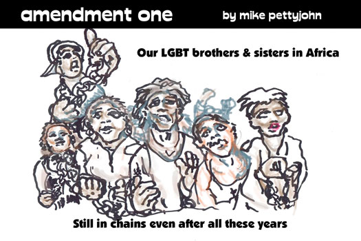 Amendment One editorial cartoon by Mike Pettyjohn for October 2018