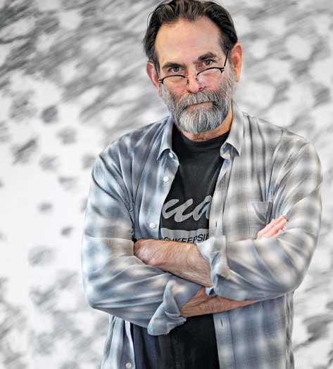 Artist and activist Avram Finkelstein