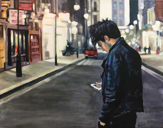 David Meadow painting