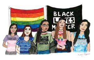 """International Women's Day"" artwork by Kinsey Ratzman"