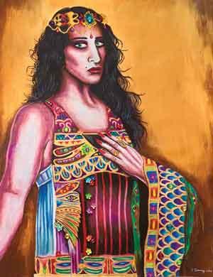 """""""Exotica"""" by NJ artist Steve Cummings"""