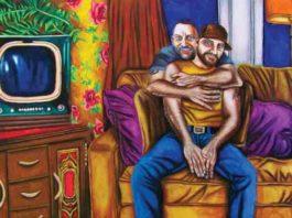 """NJ Artist Steve Cunmmings """"Vintage Beefcakes 2"""""""