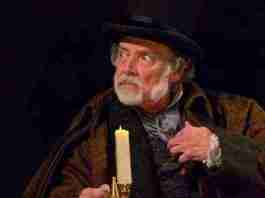 """A Christmas Carol"" at McCarter Theatre photo by T. Charles Erickson"