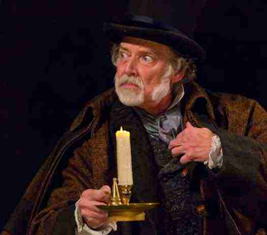 """""""A Christmas Carol"""" at McCarter Theatre photo by T. Charles Erickson"""