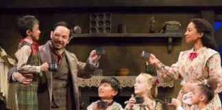 """""""A Christmas Carol"""" at McCarter Theatre photos by T. Charles Erickson"""