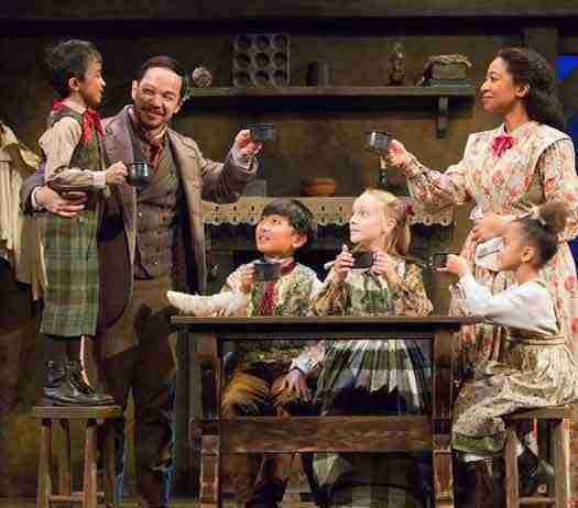 """A Christmas Carol"" at McCarter Theatre photos by T. Charles Erickson"