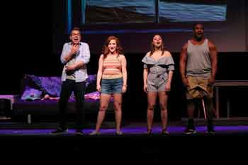 """Scene from """"A Dog Story"""" at Bickford Theatre"""