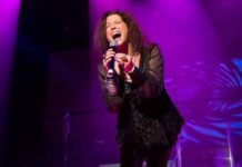 "Scene from McCarter Theatre's new show ""A Night With Janis Joplin"""