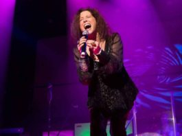 """Scene from McCarter Theatre's new show """"A Night With Janis Joplin"""""""