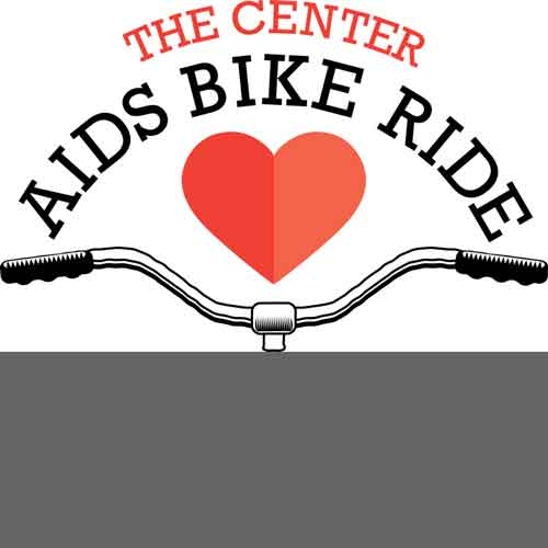 The Center in Asbury Park AIDS Bike Ride logo