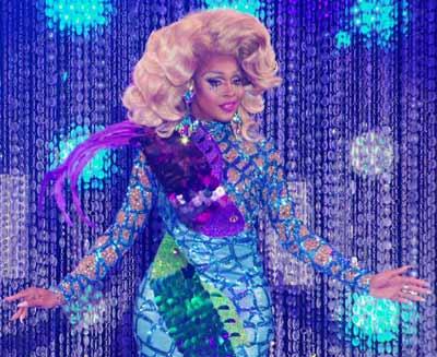 "Akeria C. Davenport on ""RuPaul's Drag Race"" in 2019"